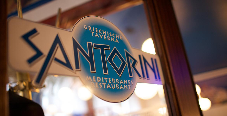 Essen in Flensburg - Restaurant Santorini